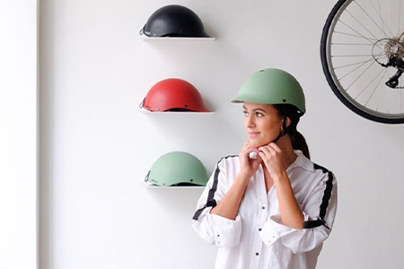 casque vélo vintage dashel
