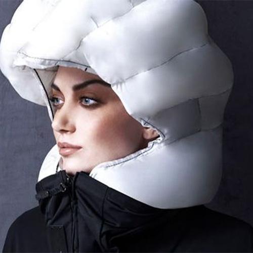 casque airbag velo femme