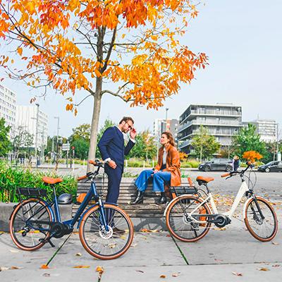 vae O2feel cadre du vélo